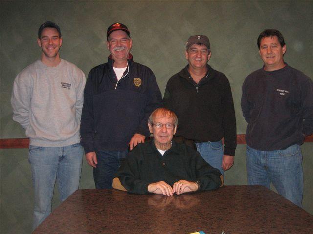 Eric, Pete, John T, Rob, and John H
